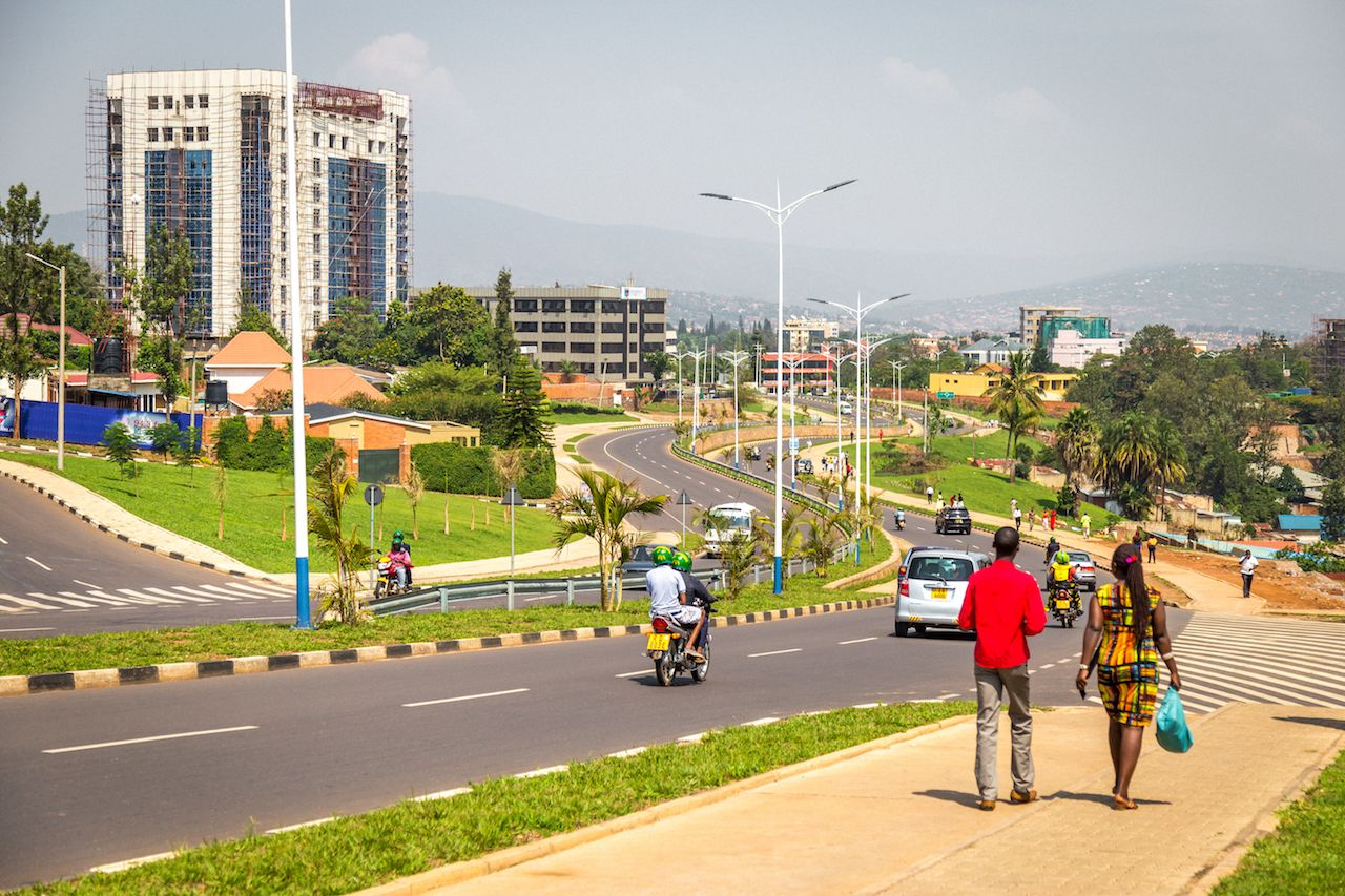 Image result for kIGALI CLEAN CITY IN AFRICA