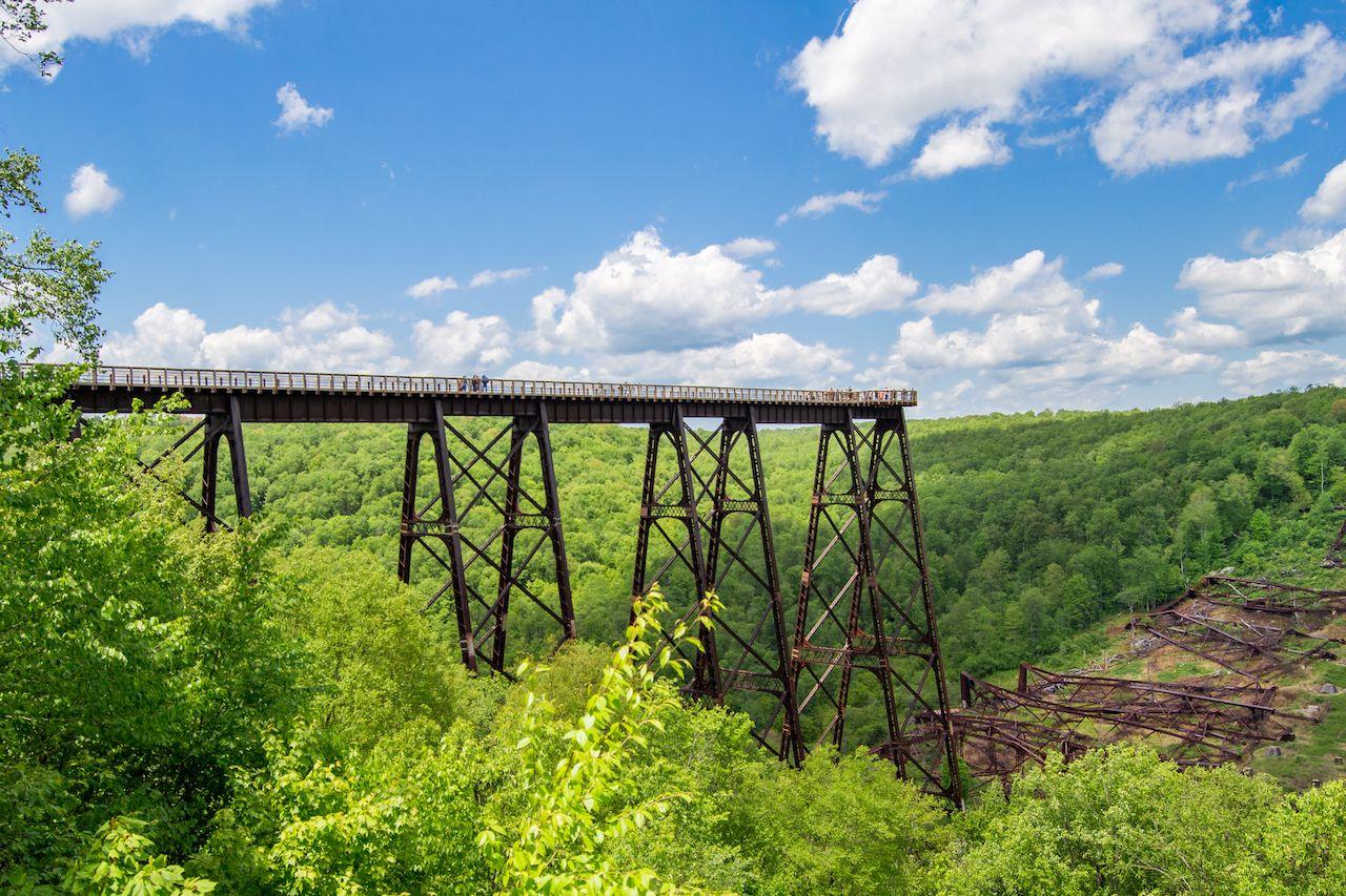 Kinzua Bridge Skywalk in Pennsylvania
