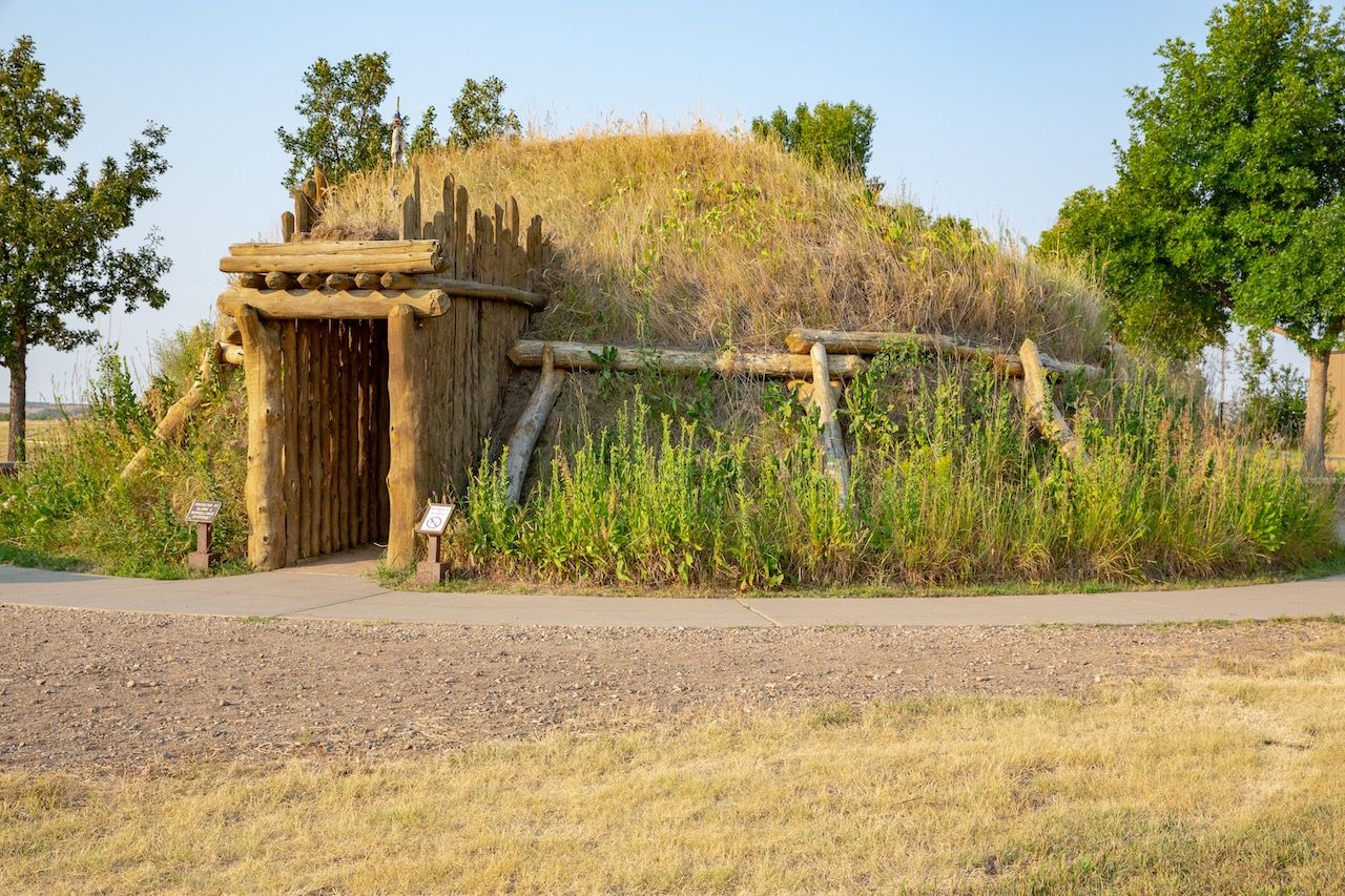 Knife River Indian Villages National Historic Site in North Dakota, USA