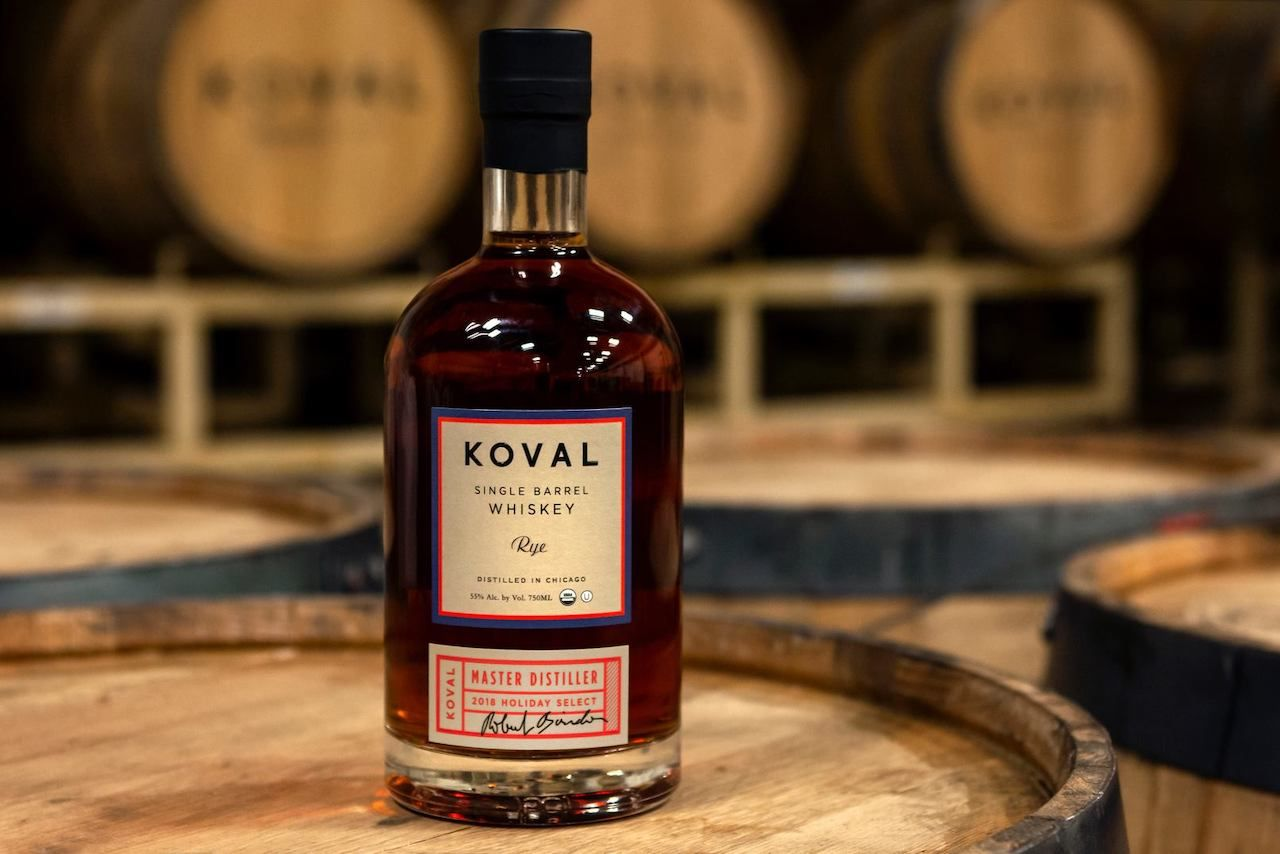 Koval Distillery whiskey