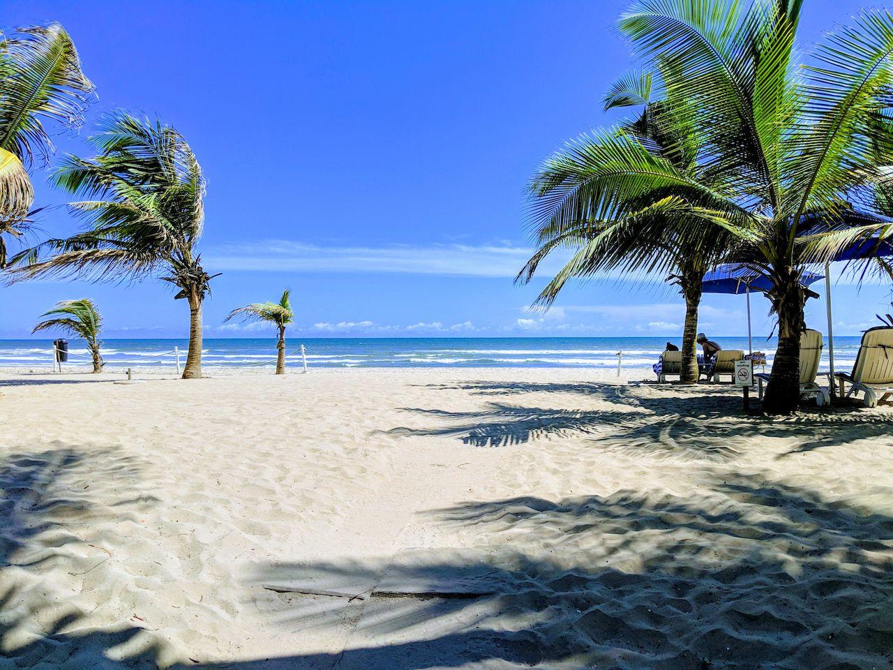 Labadi Beach in Accra, Ghana