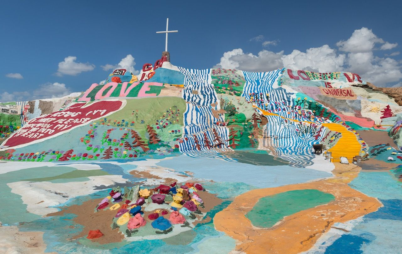 Leonard Knight's Salvation Mountain