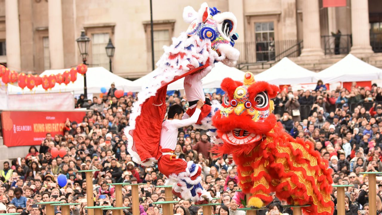 Lunar New Year Festival in England