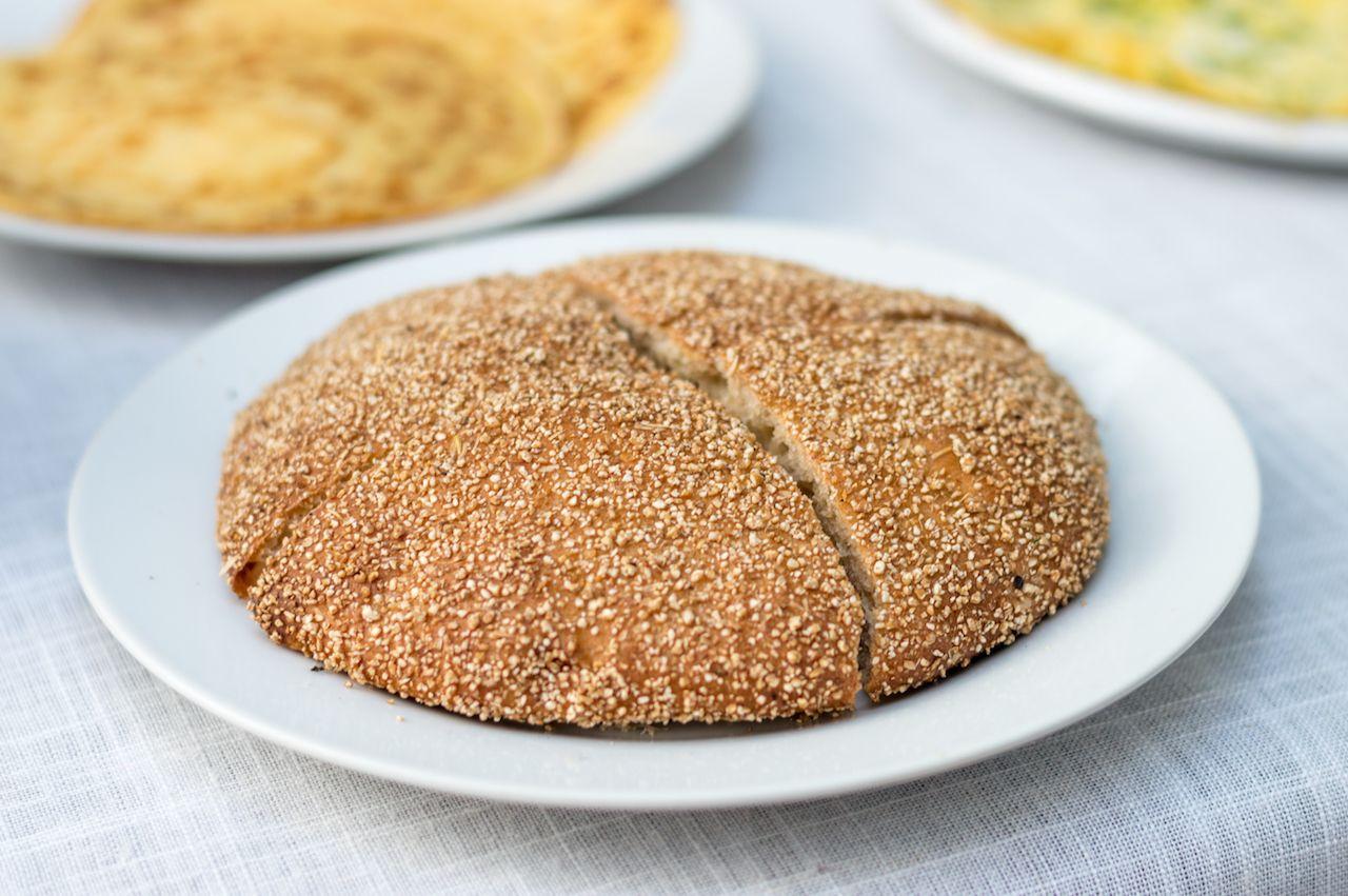 Mahrash traditional moroccan bread