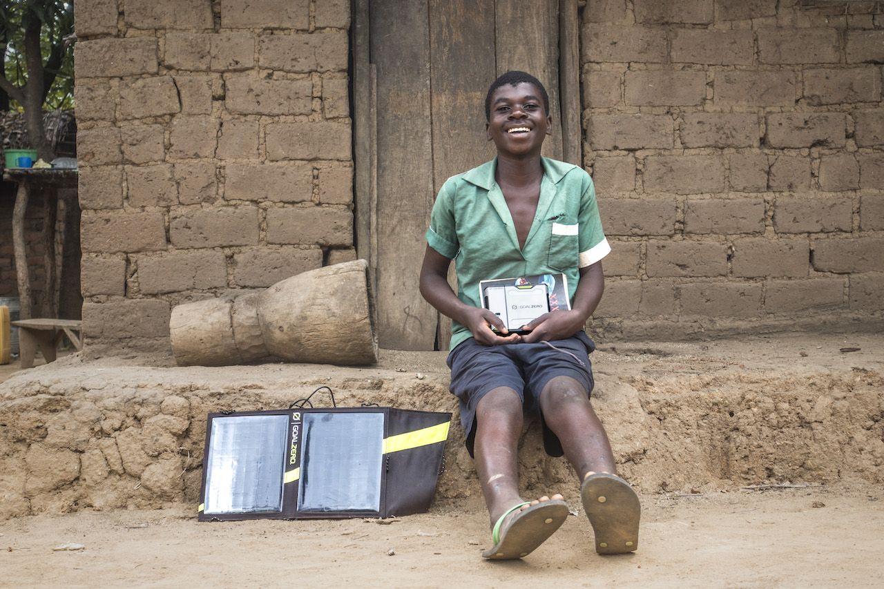 Bringing light to rural Malawians