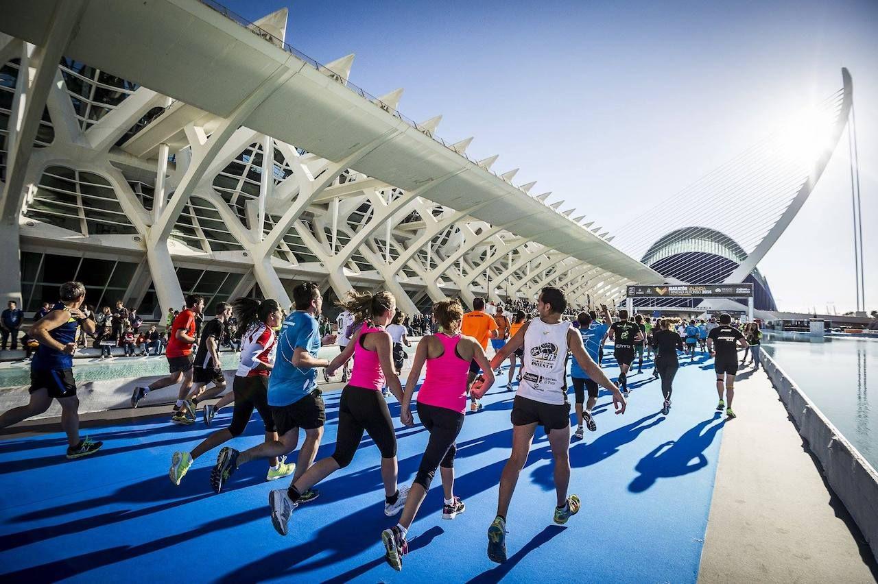 Marathon in Spain