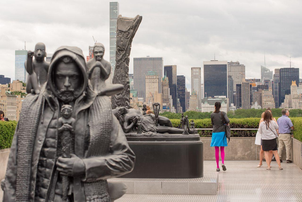 Metropolitan Museum of Art rooftop in New York City