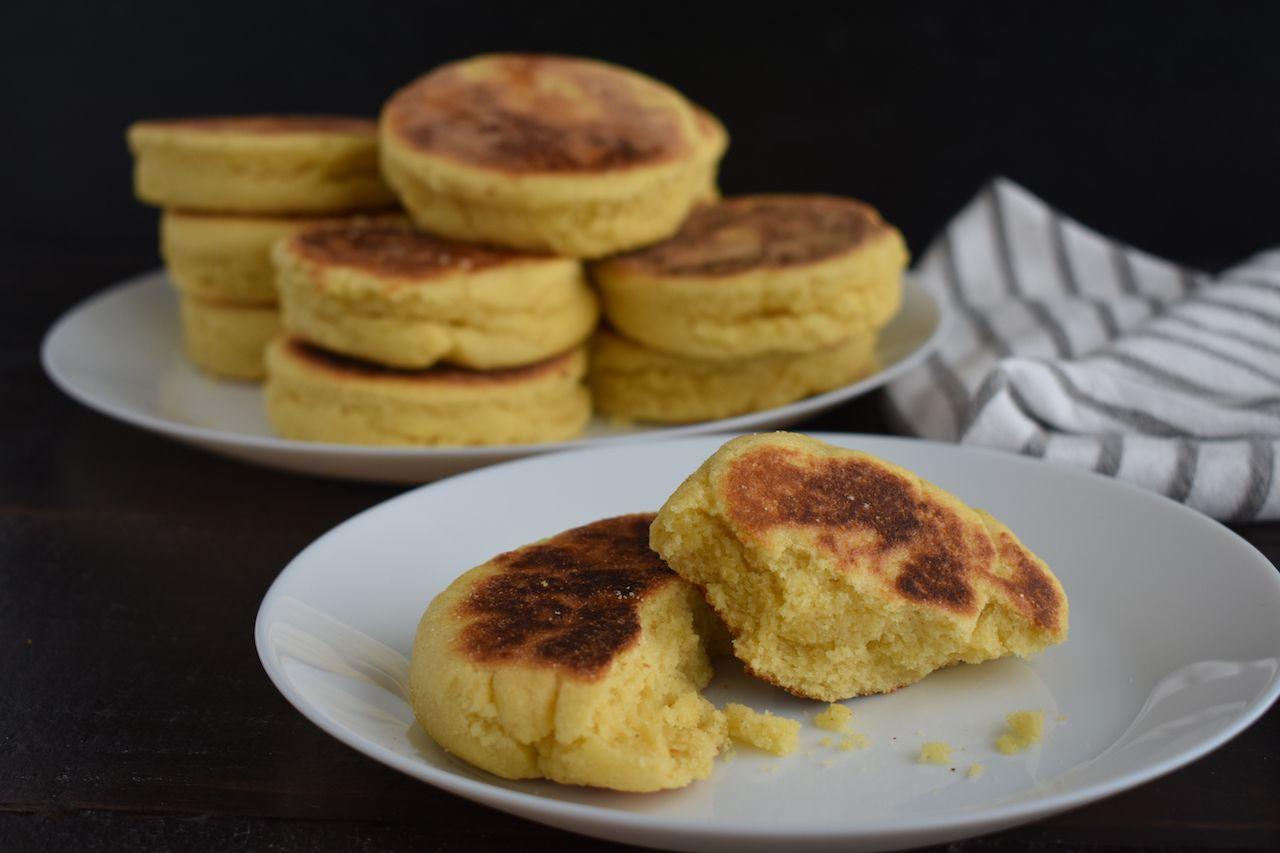 Moroccan harcha bread