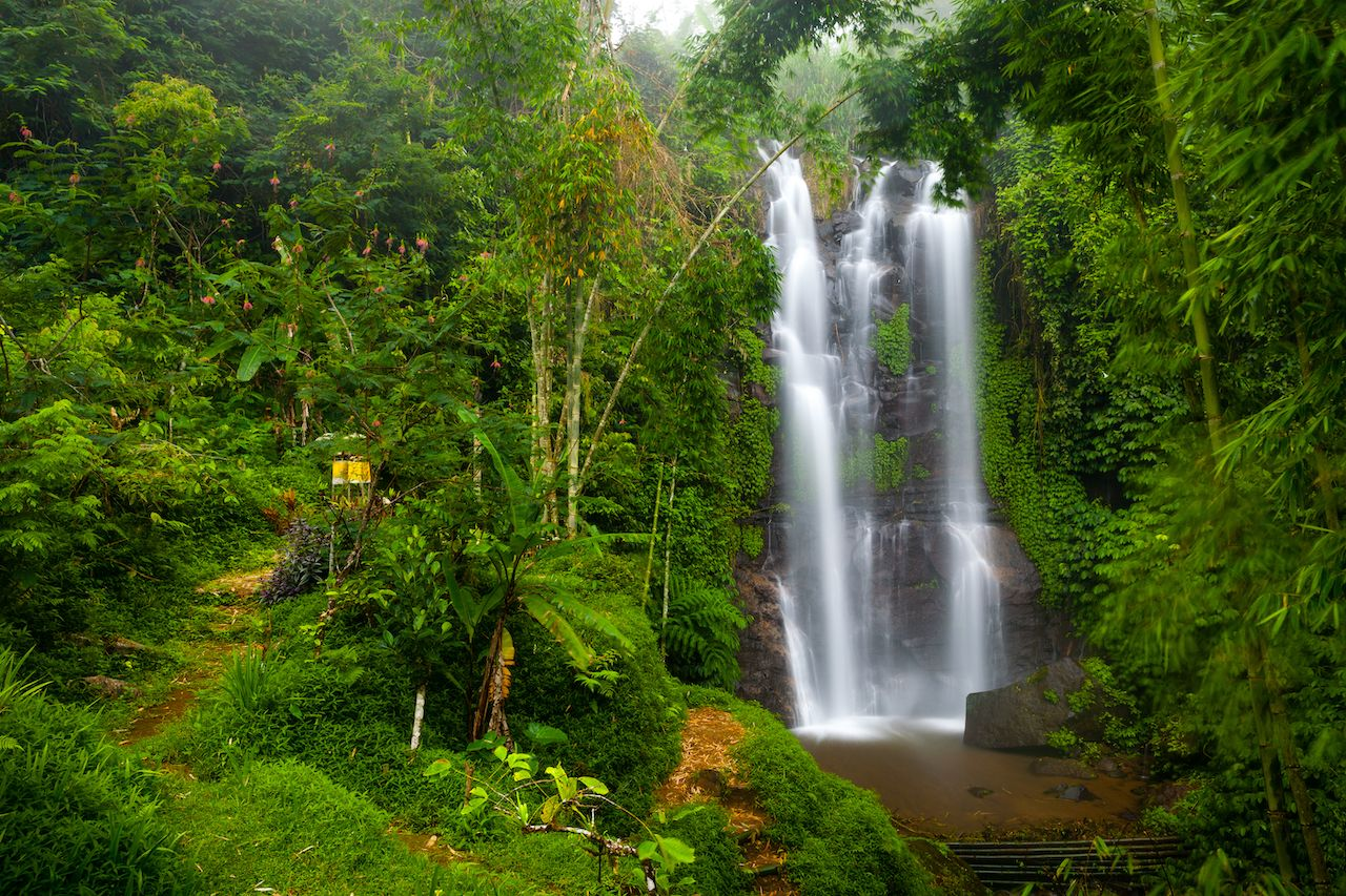 Munduk Natural Waterfall, Bali
