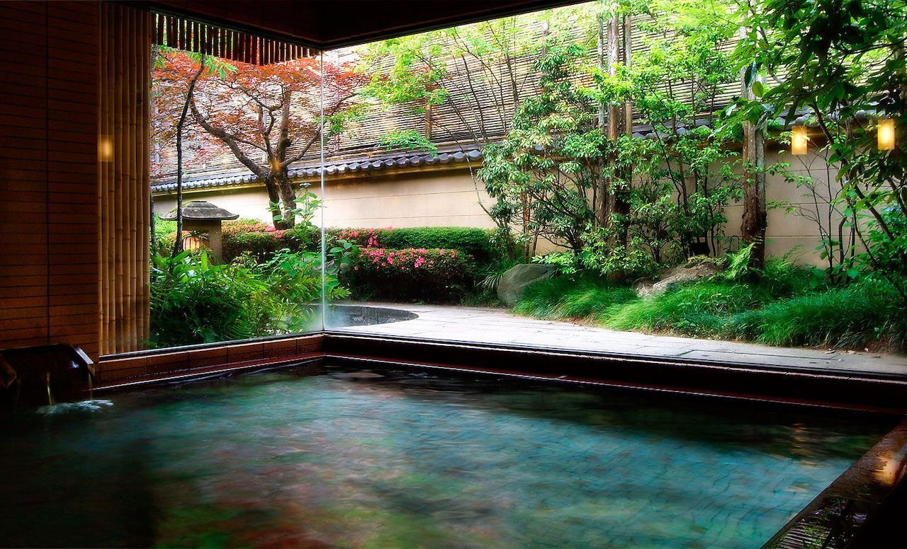 Onsen in Kinosaki, Japan