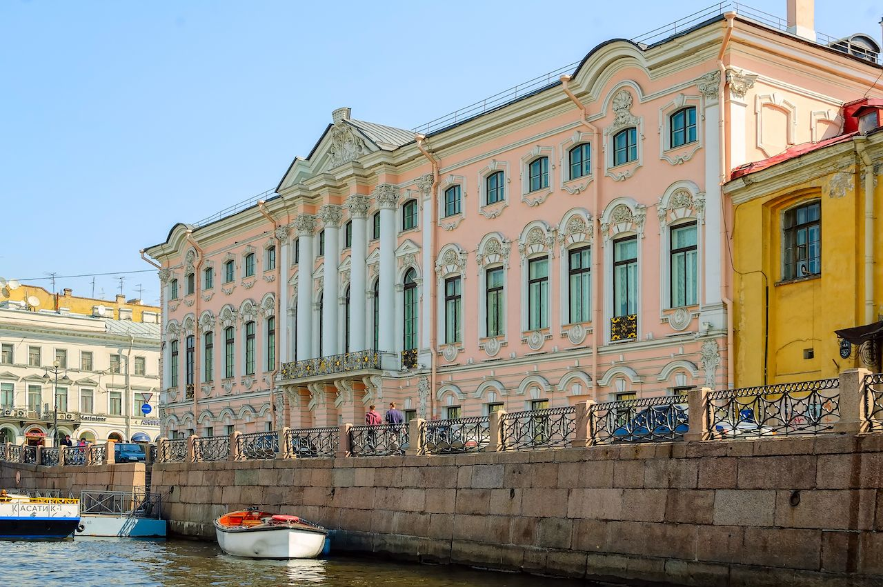 Palace of Stroganov, Russia
