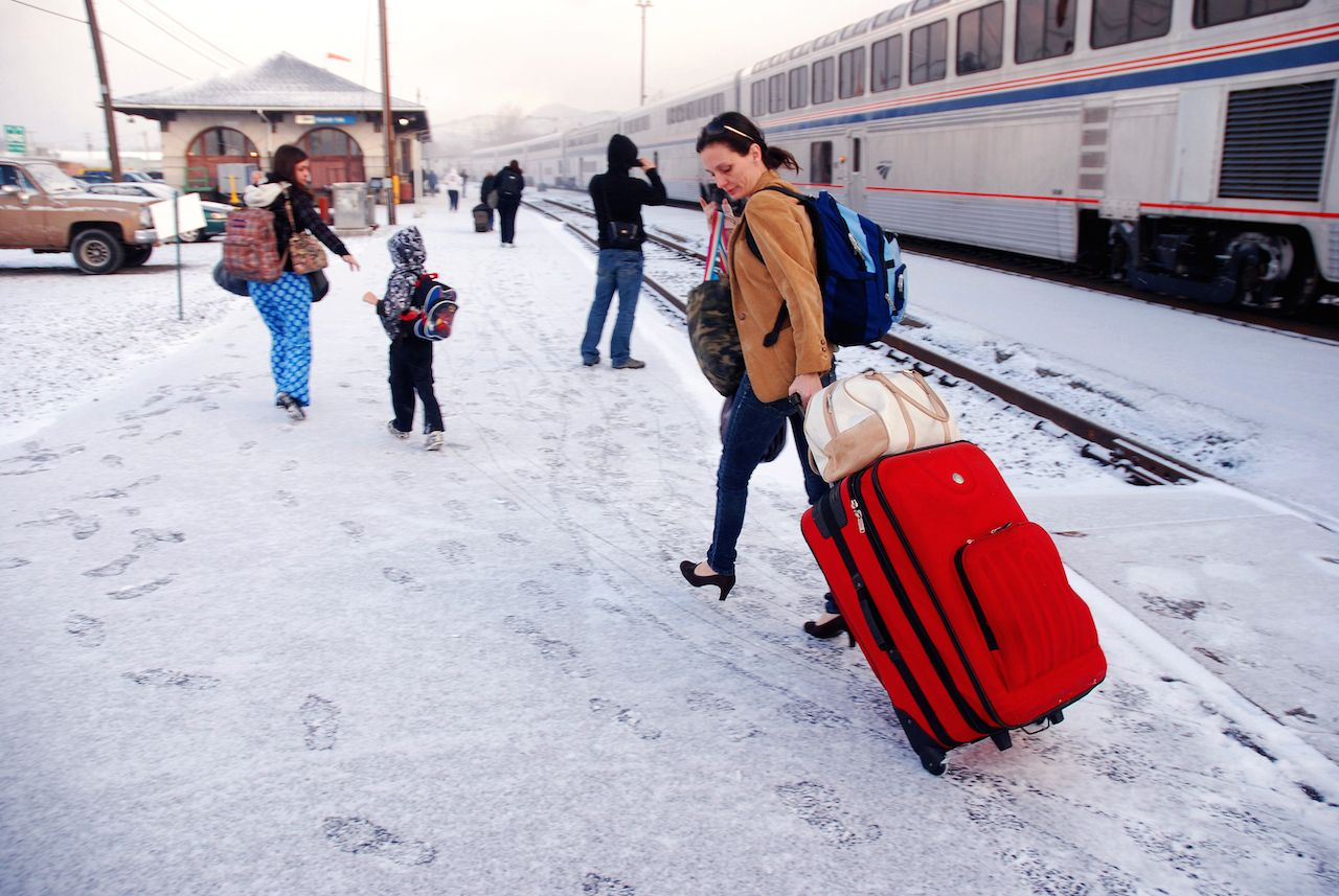 Amtrak stuck for 36 hours in Oregon