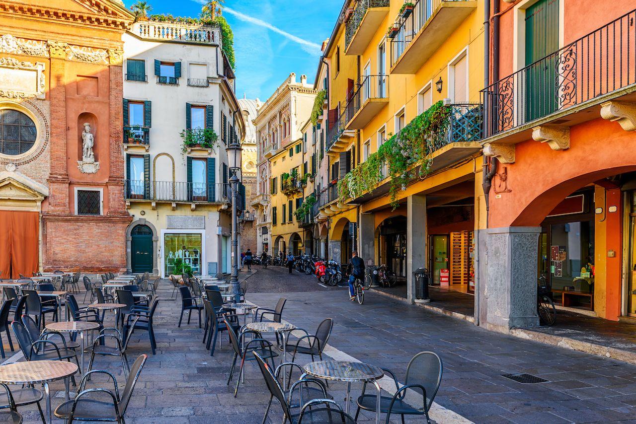 Piazza dei Signori in Padua