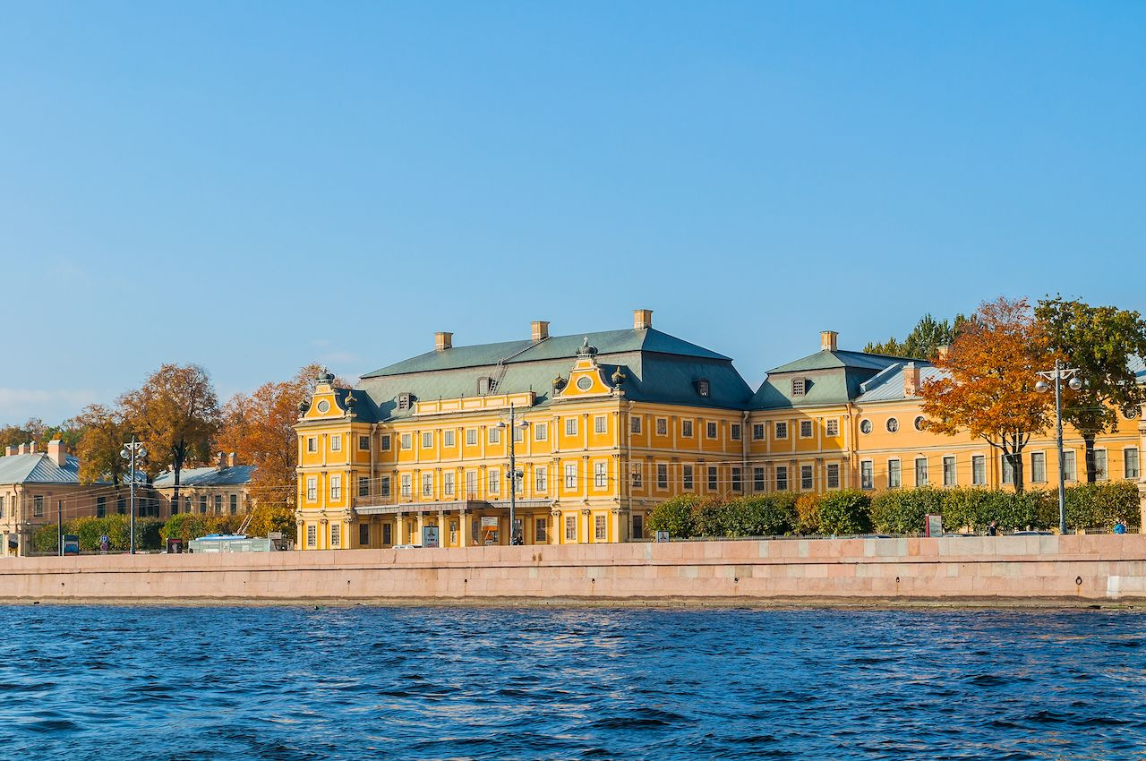 Prince Menshikov Palace in Saint Petersburg, Russia