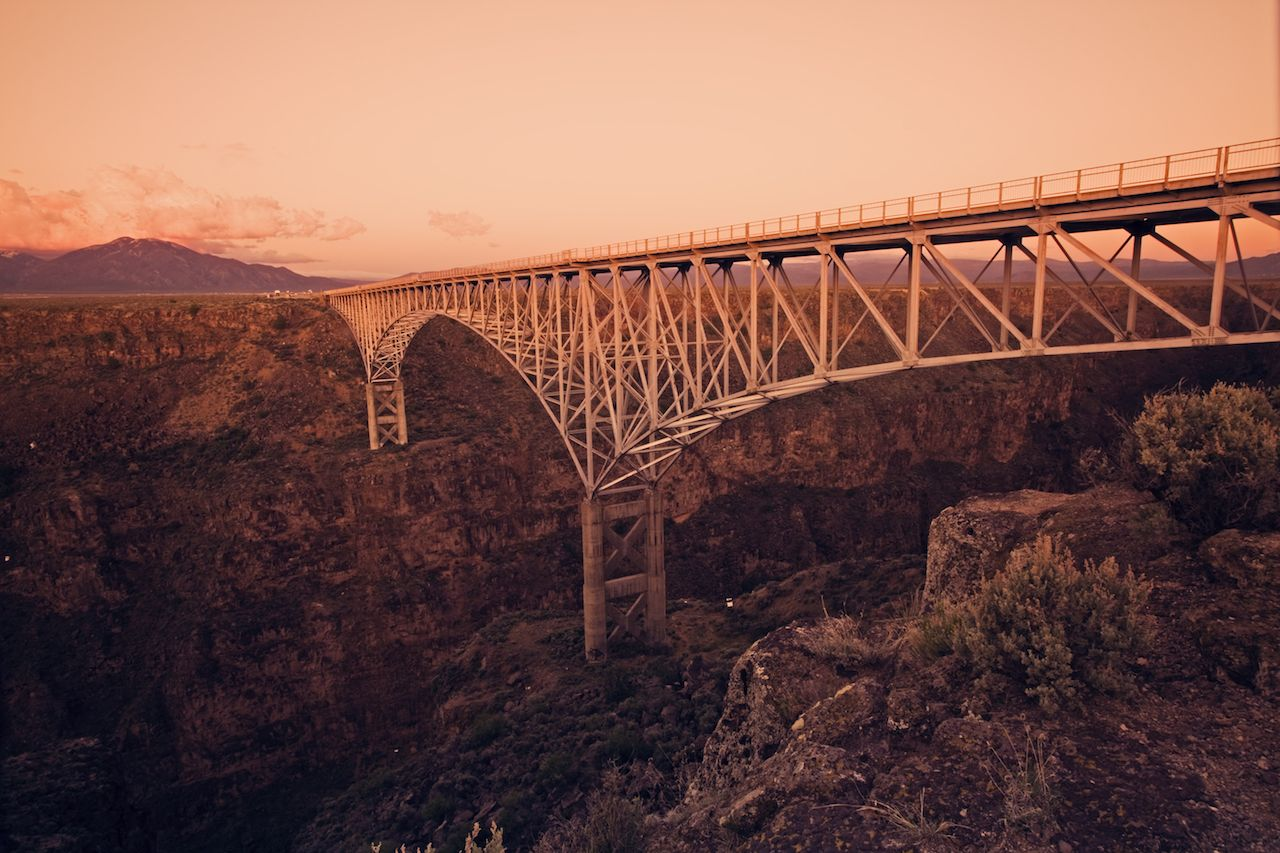 Rio Grande Gorge Bridge in New Mexico