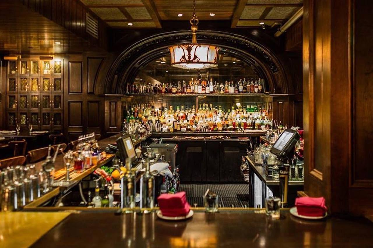 Saloon bar interior