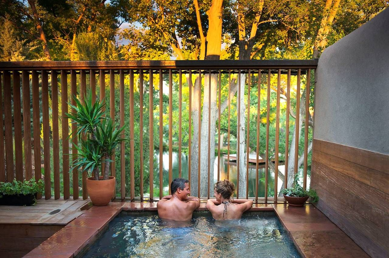 Santa Fe spa for couples