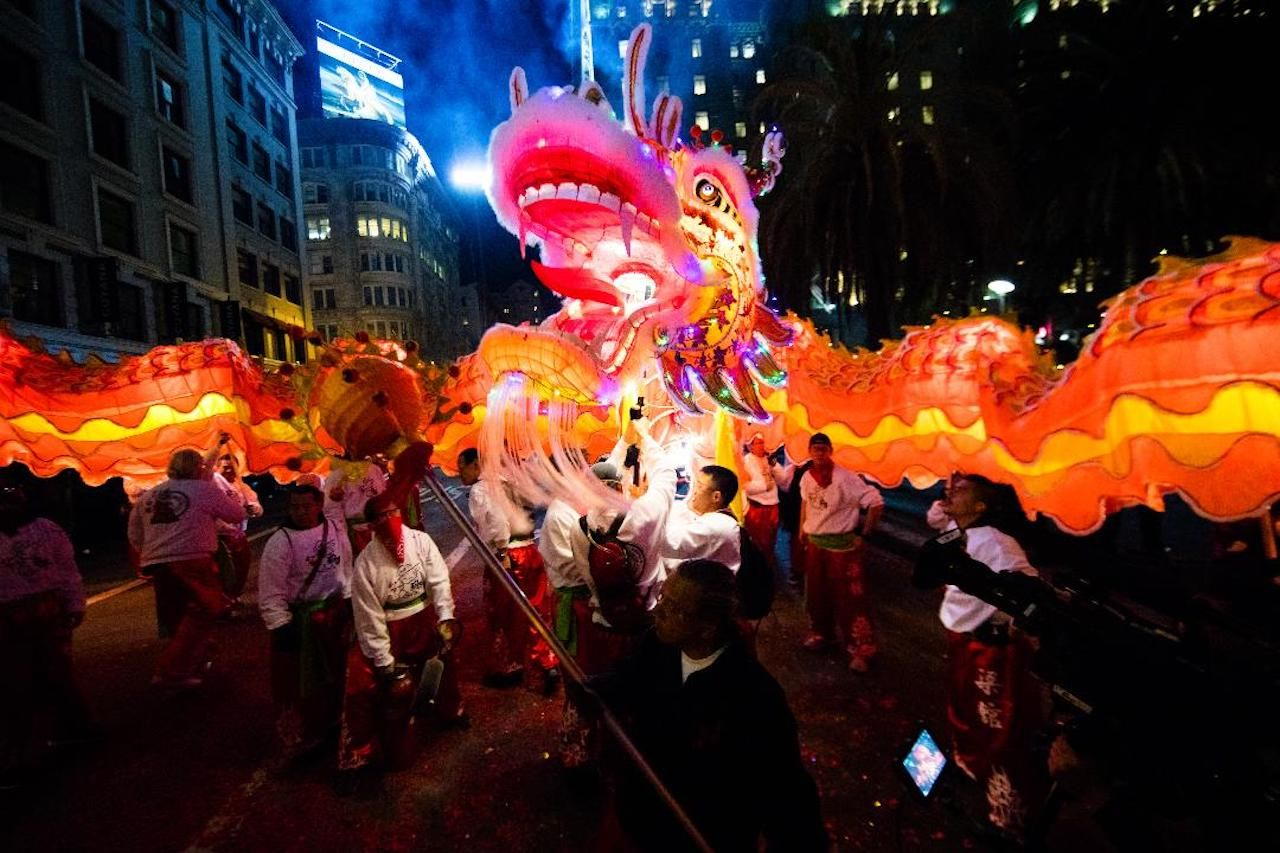 Southwest Airlines Chinese New Year Parade and Festival