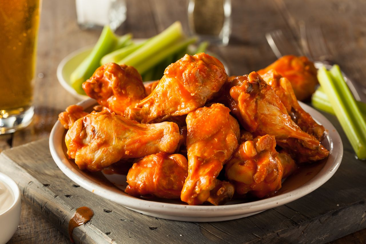 Origin of Buffalo chicken wings
