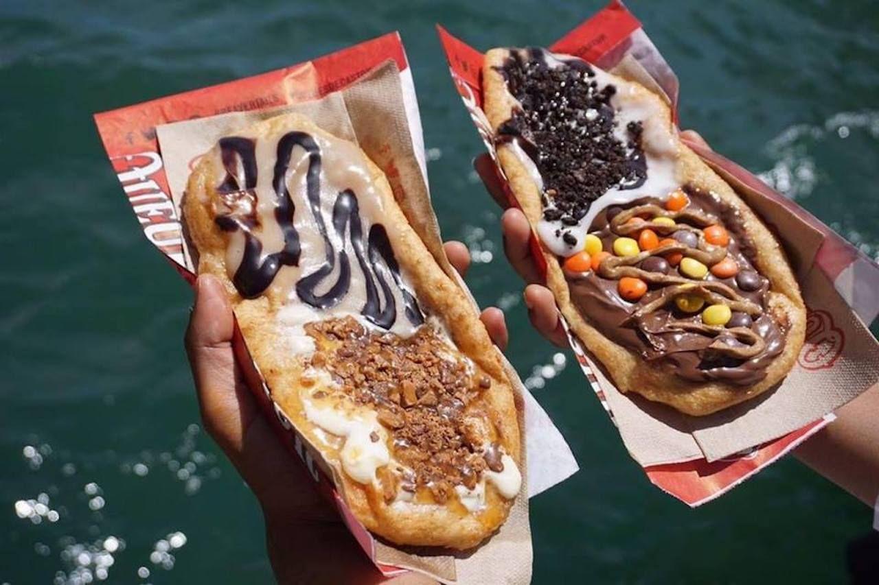 Sweet BeaverTail donuts
