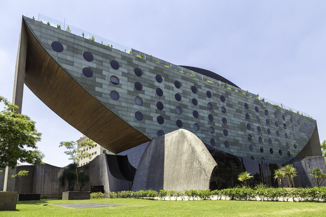 The Hotel Unique is one of the landmarks in Sao Paulo