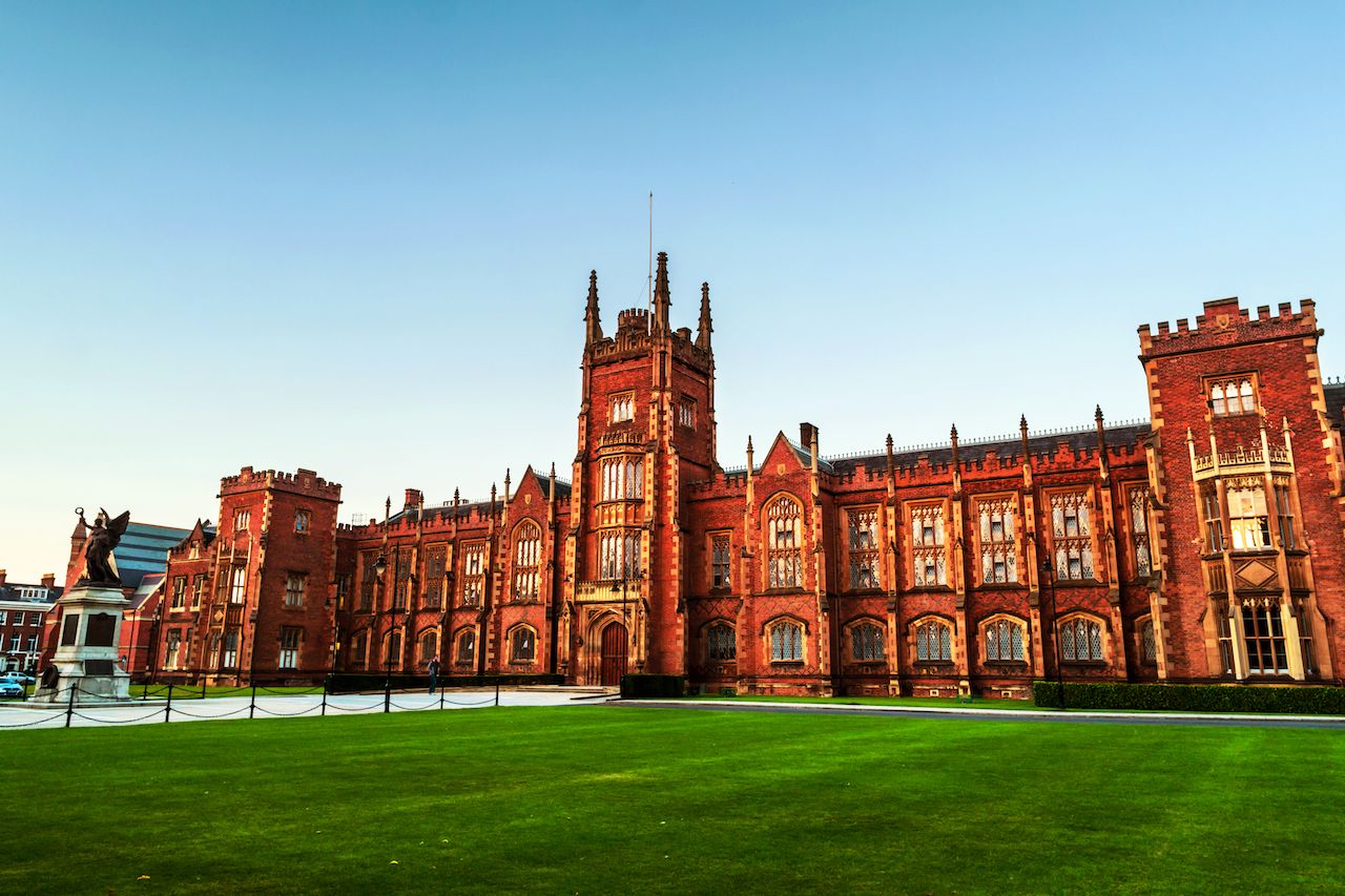 The Lanyon Building, Queen's University Belfast
