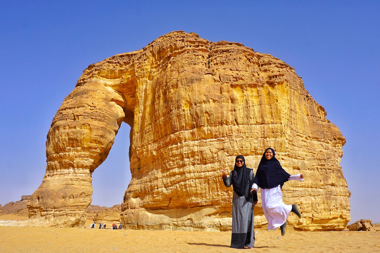 Saudi Arabia tourist visa and sights