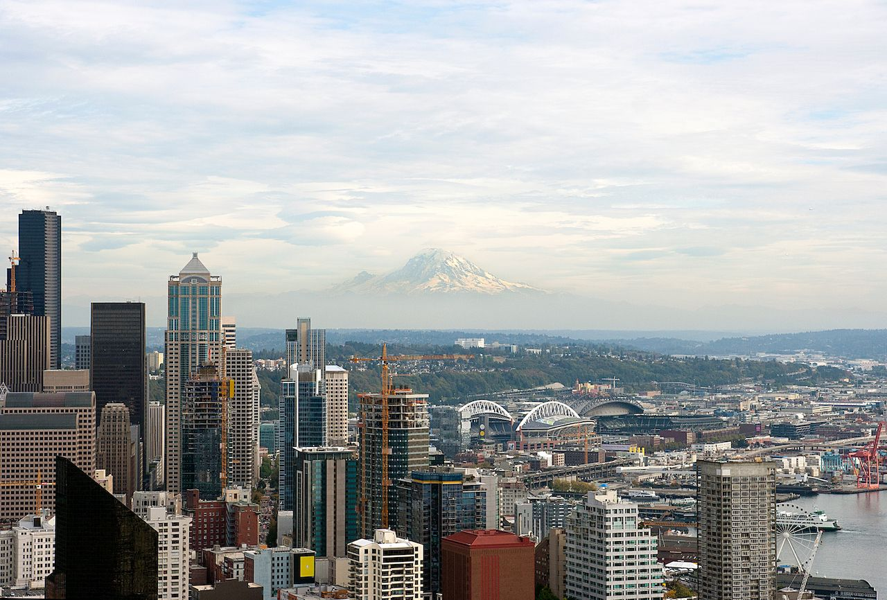 View of Seattle, Washington skyline