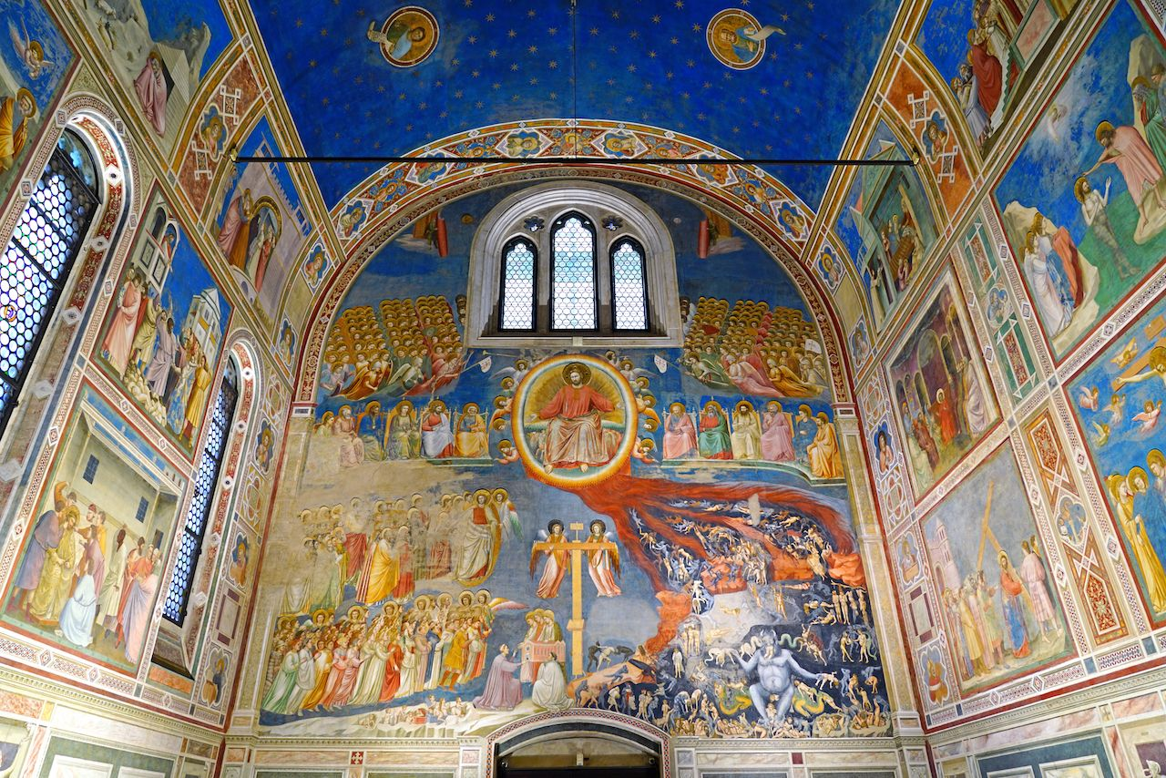 View of the Scrovegni Chapel landmark
