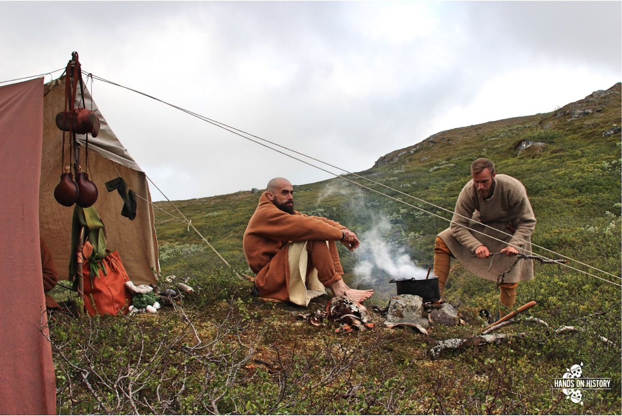 Viking reenactment in Norway