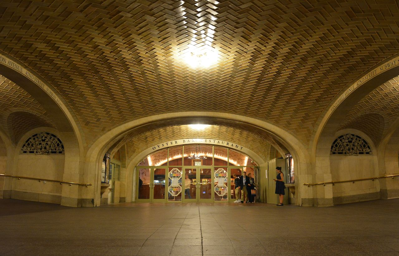Whispering Gallery in Grand Central, New York