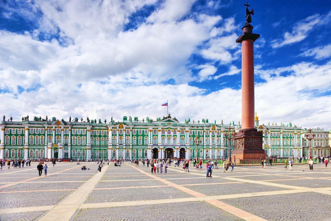Winter Palace in Saint Petersburg, Russia