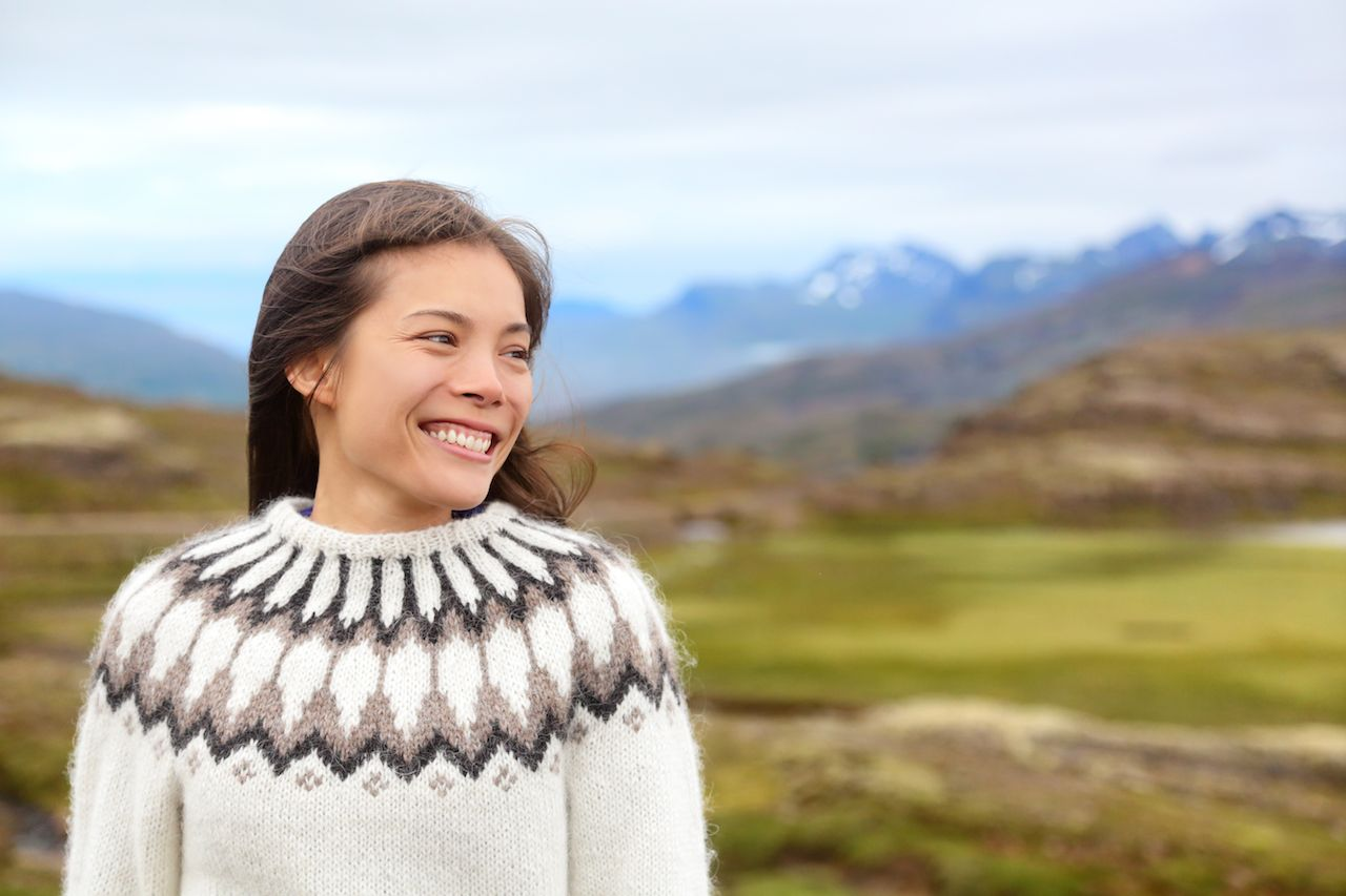 Knitting patterns around the world