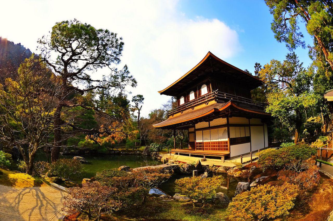 Zen temple in the Sakyo ward of Kyoto, Japan