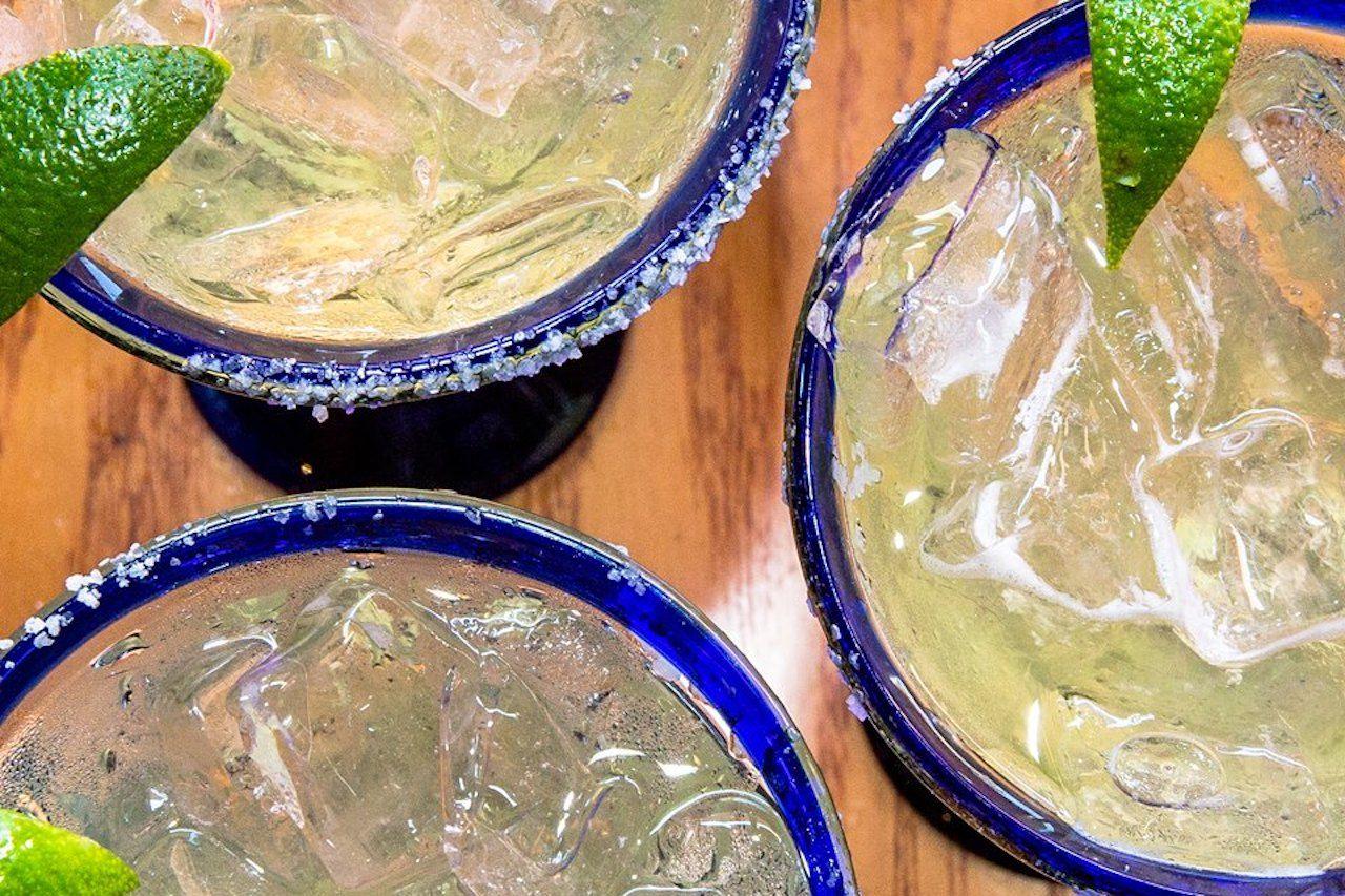 close up of margarita trio