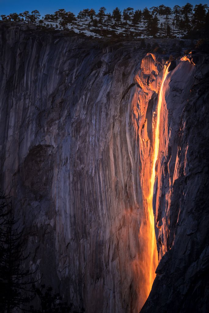 firefalle ffect at yosemite