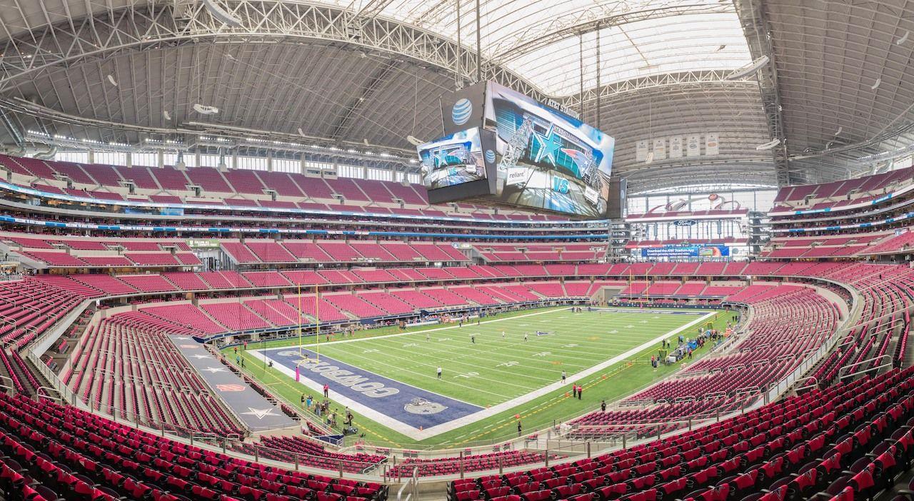 ATT stadium in Texas