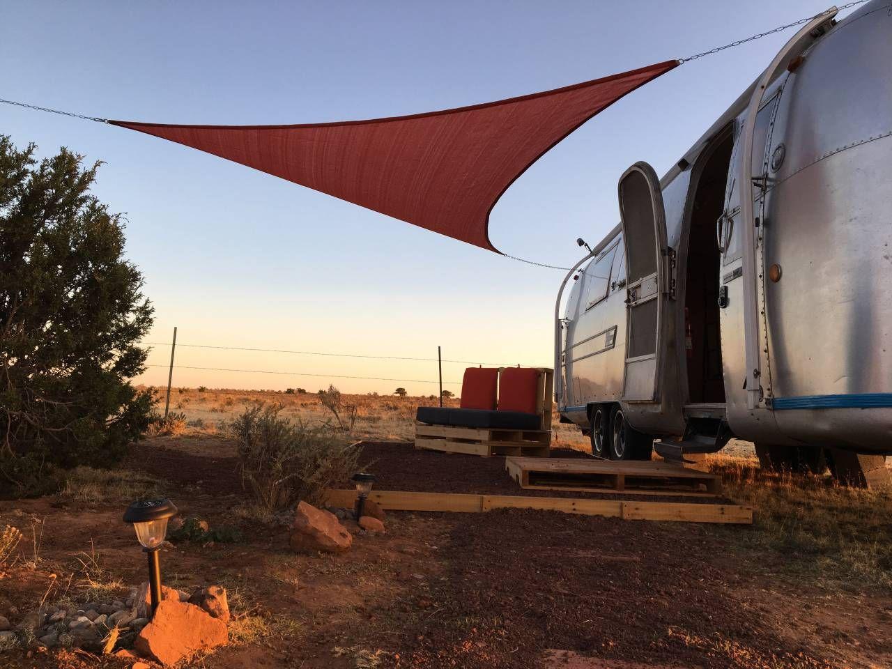 Airstream basecamp near Grand Canyon, Arizona