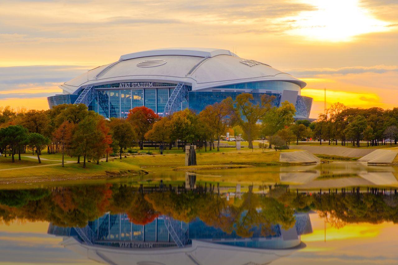 Arlington, Texas ATT football Stadium