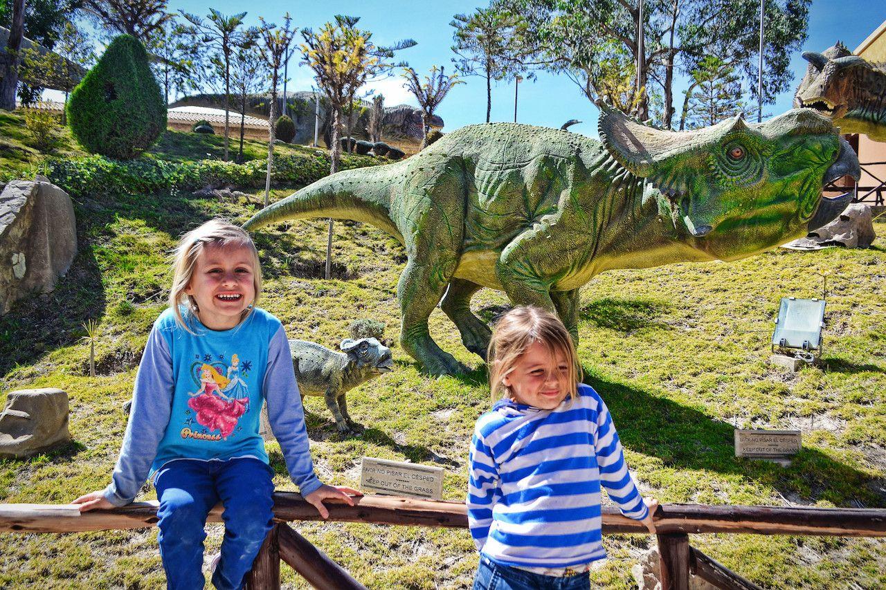 Cretacico Park in Sucre, Bolivia