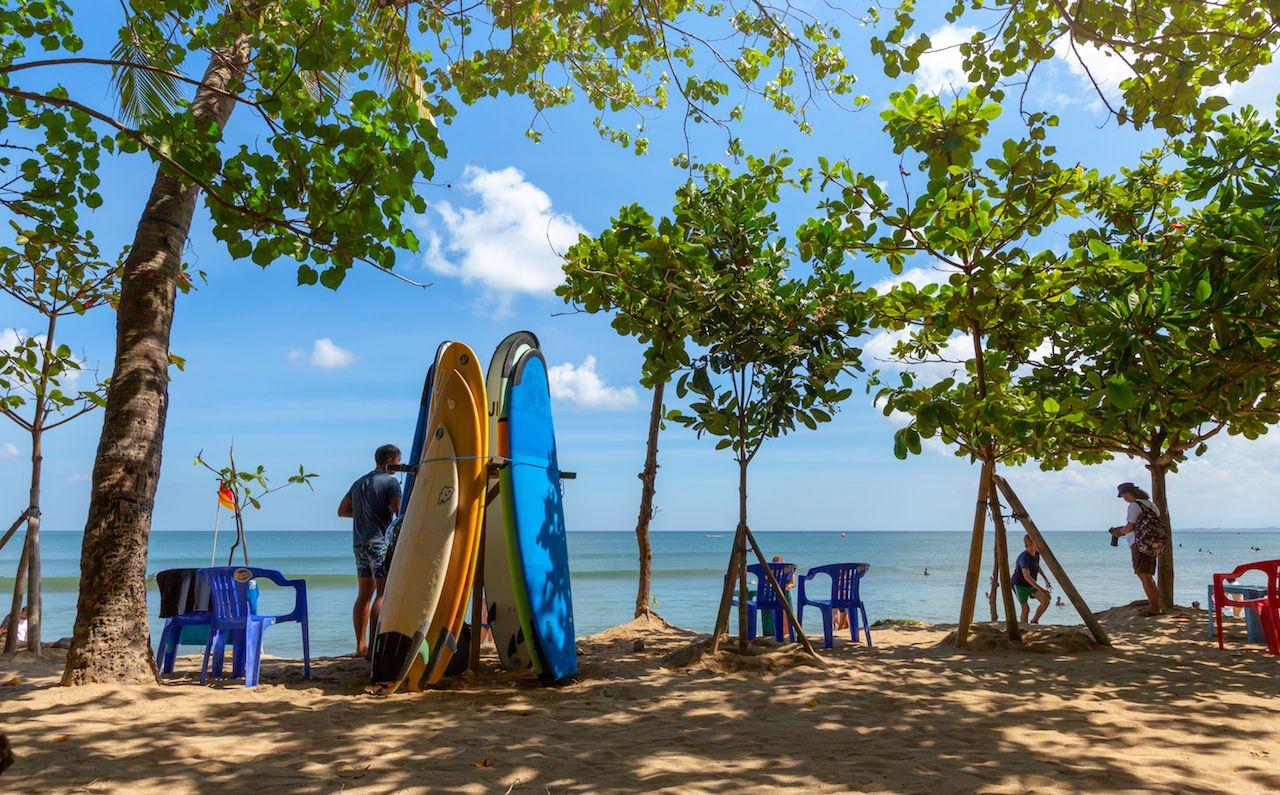 Bali island, Kuta beach
