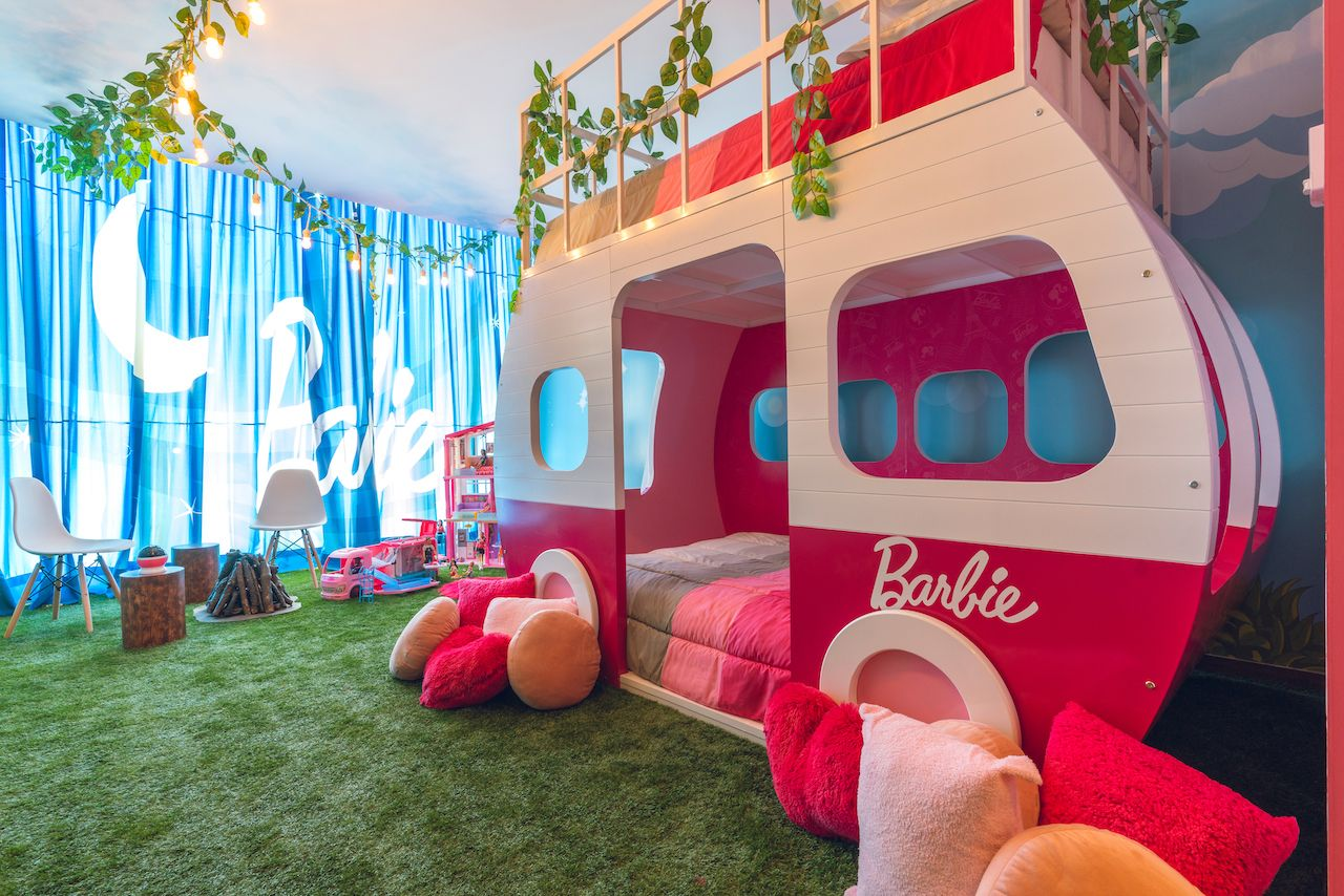 Barbie hotel room Mexico City