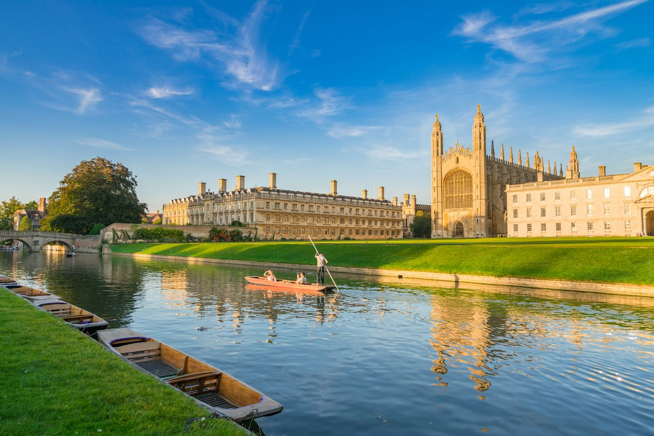 Best places for punting in England