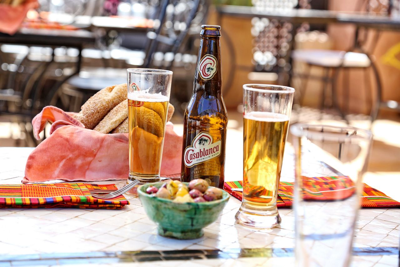 Beer in Casablanca, Morocco