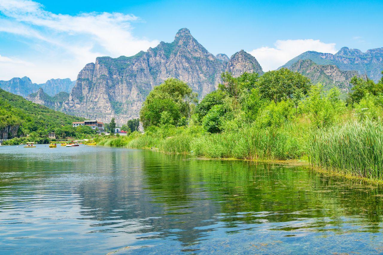 Beijing Shidu landscape scenery
