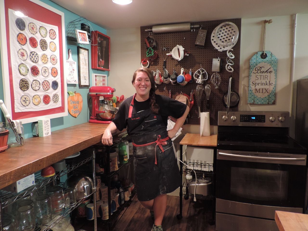 Brie the Pie Queen at Boyce General Store