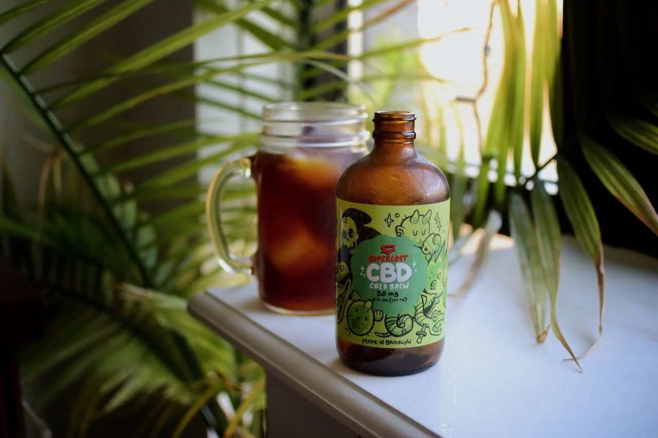 CBD cold brew coffee
