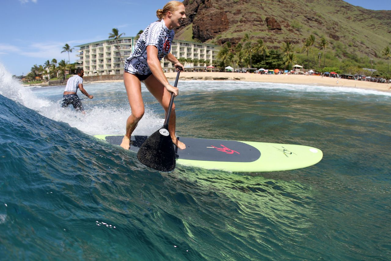 Candice Applebee joins the Buffalo Classic Big Board in the Stand Up Paddle Division