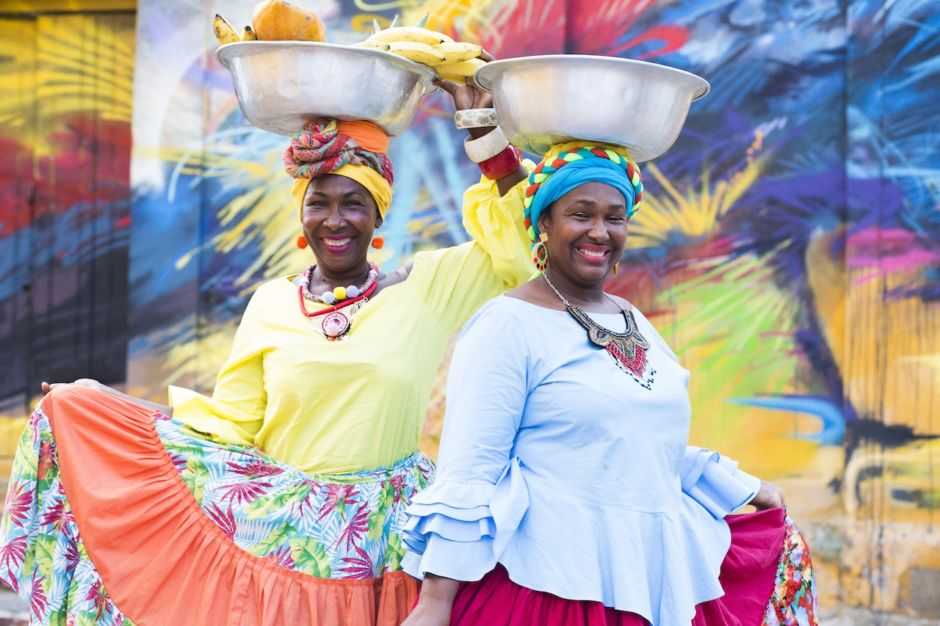 Colombia Cartagena portrait feel the rythm