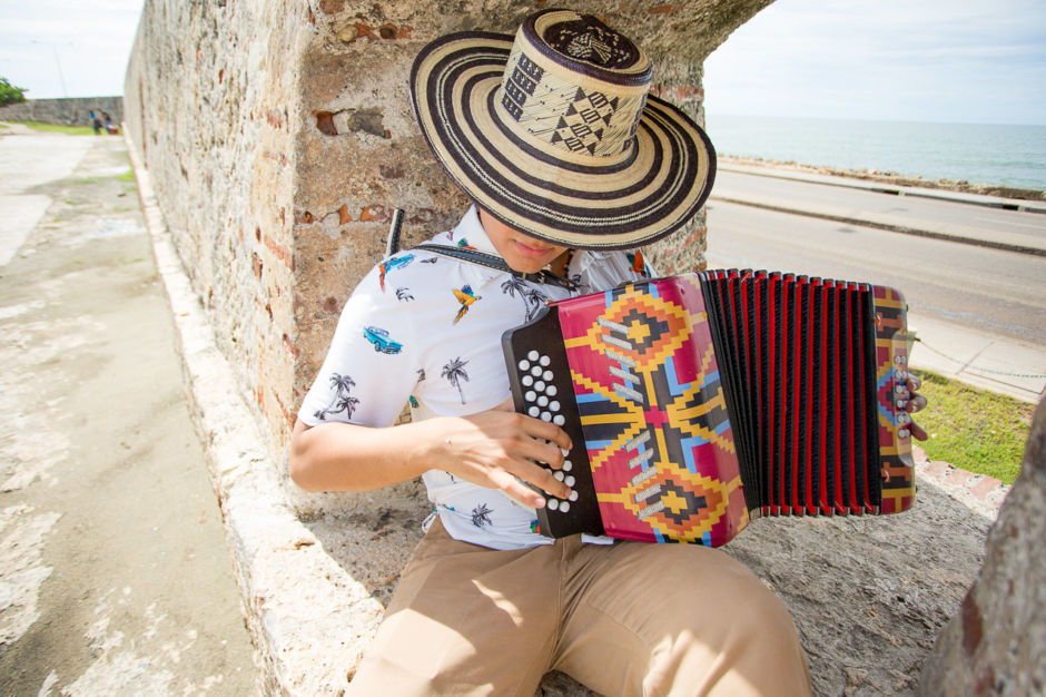 Colombia music accordion